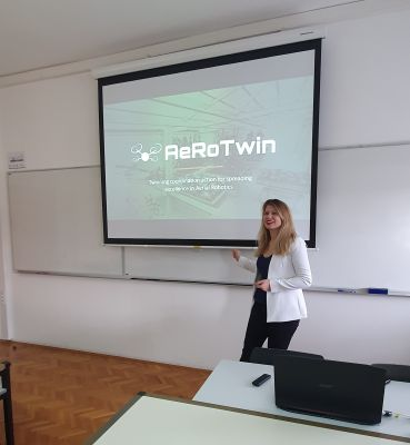 Ivana Mikolic held an invited talk at...