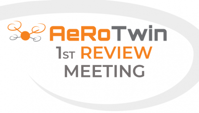 First review meeting of project AeRoTwin