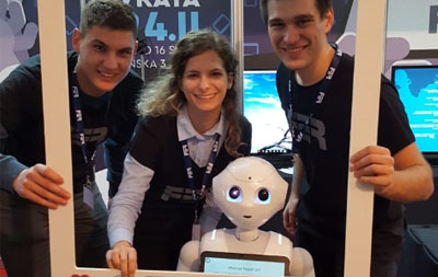 A successful European Robotics Week...